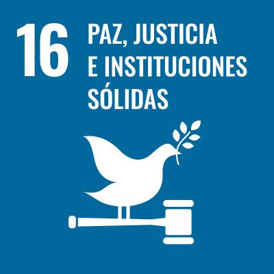 Paz, justicia e instituciones sólidas